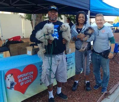Helping veterans with pets