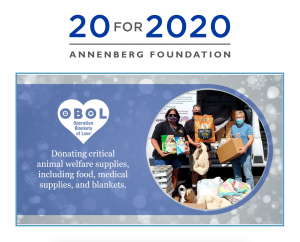 Annenberg Foundation Selects OBOL as Top 20 for 2020