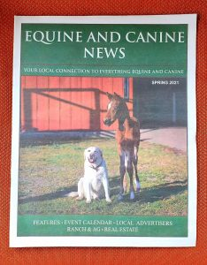 """OBOL Featured in """"Equine and Canine News"""" Spring 2021 Edition"""